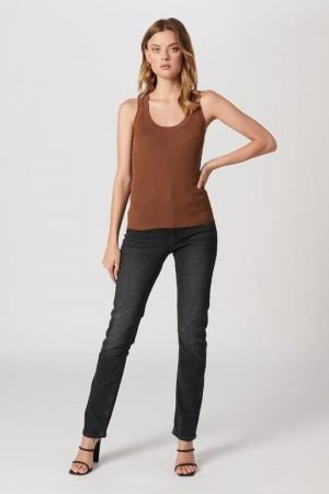 MVN - MONT BLANC KNIT TOP - BROWN